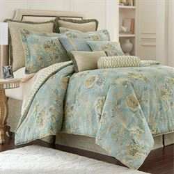 Odessa Comforter Set Teal