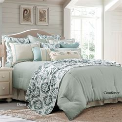 Beaumont Comforter Set Celadon