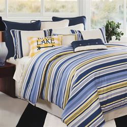 Beaufort Comforter Set Blue