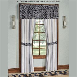 St. Clair Tailored Curtain Pair Pearl 96 x 84