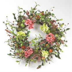 Juliana Floral Pear Wreath Multi Cool