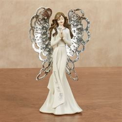 25th Anniversary Angel Figurine Pearl