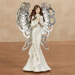 50th Anniversary Angel Figurine Pearl