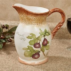 Tuscan Fruit Beverage Pitcher Multi Earth