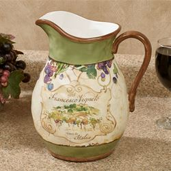 Vino Beverage Pitcher Cream