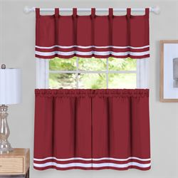 Norwood Tier and Valance Set