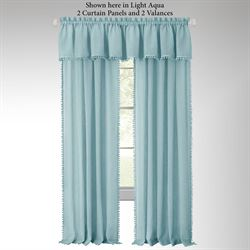 Findlay Semi Sheer Curtain Panel