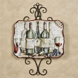 Metal Scroll Wall Mount Single Plate Rack  sc 1 st  Touch of Class & Decorative Plates and Racks | Touch of Class