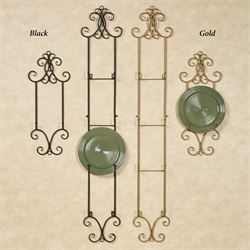 Scroll Four Plate Rack