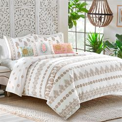 Marielle Mini Comforter Set Off White