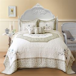 Agnes Bedspread Light Cream