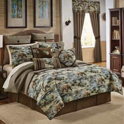 Kodiak Comforter Set Multi Warm