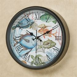 Sea Life Wall Clock Multi Bright