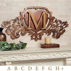Generations Crest Wall Art Sign Old World Bronze