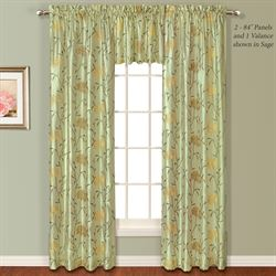 Avalon Tailored Curtain Panel