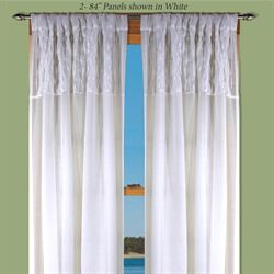 Sea Glass Curtain Panel