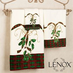 Holiday Nouveau Towel Set Ivory Bath Hand Fingertip