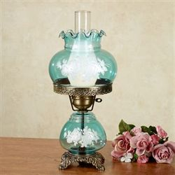 Nicci Table Lamp Teal Each with CFL Bulb