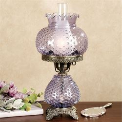 Paige Hobnail Table Lamp Each with CFL Bulb