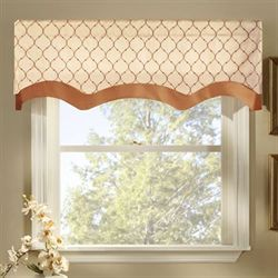 Bleeker Embroidered Valance 54 x 17