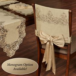 Florentina Chair Covers Antique Gold Set of Two