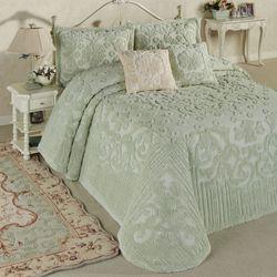 Laurent Grande Bedspread Set Pale Green