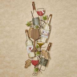 Siena Harvest Wine Wall Art Multi Earth