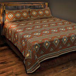 Tucumcari Blanket Set Multi Warm