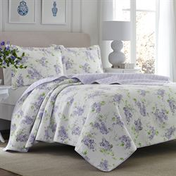 Keighley Mini Quilt Set Lilac