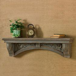 Mantel Wall Shelf Gray