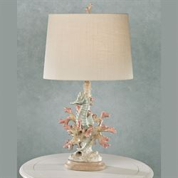 Seahorse Table Lamp Multi Pastel