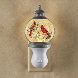 Cardinal Swirl Nightlight White