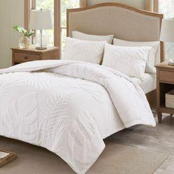 Bahari Mini Comforter Set White