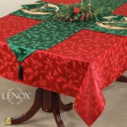 Lenox Holly Damask Tablecloth