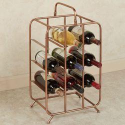 Blake Wine Rack Copper