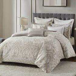 Manor Comforter Bed Set Platinum Gray