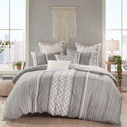 Imani II Mini Comforter Set Gray