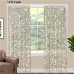 Sweet Songbird Lace Curtain Panel