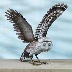 Barn Owl Sculpture Multi Earth