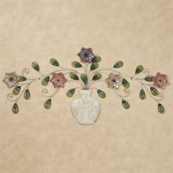 Adelaide Floral Wall Sculpture Multi Pastel