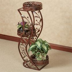 Catalonia Plant Stand Brown
