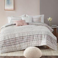 Calum Comforter Bed Set Blush