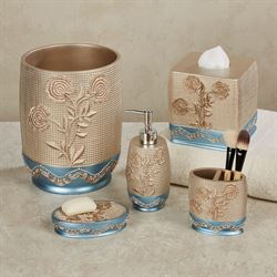 Ombre Rose Lotion Soap Dispenser Blue