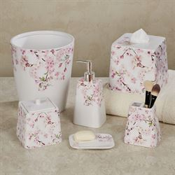 Cherry Blossoms Lotion Soap Dispenser Pink