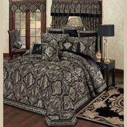 Nottingham Grande Bedspread Black