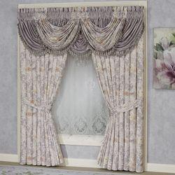 Romantica Floral Waterfall Valance Wisteria 43 x 33