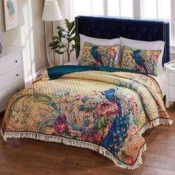Eden Peacock Mini Quilt Set Multi Jewel