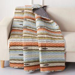 Painted Desert Throw Blanket Multi Cool 50 x 60