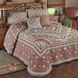 Valley Vista Grande Bedspread Set Multi Warm