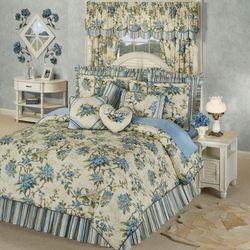 Marquette Comforter Set Buttercream